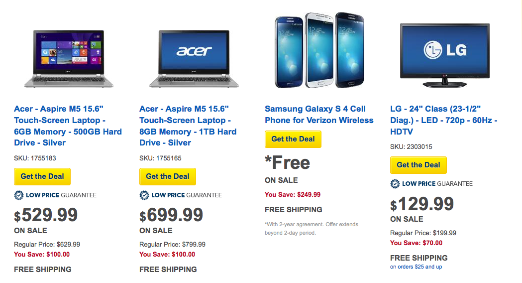 Grab the Best Priced Laptops