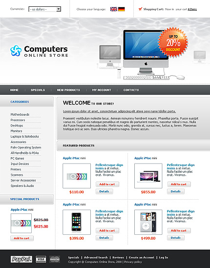 Shapely Computer Shopping Online