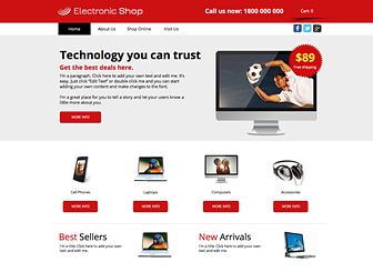 Decent Electronic Online Store