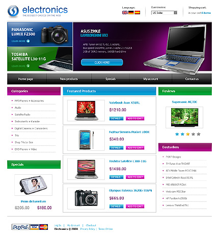 Reliable Electronics Shopping Online