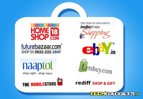 Selected India Online Shopping Sites