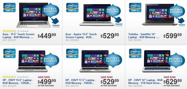 Intel Laptop Deal