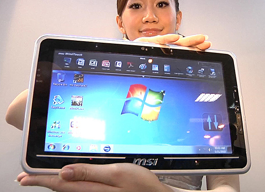 MSI Windows Tablet Pc